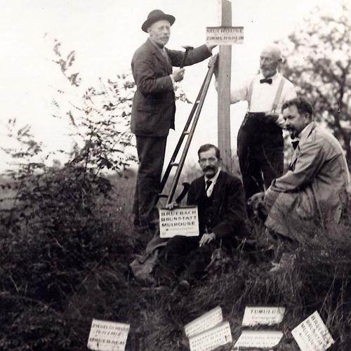 Histoire du CV Mulhouse, balisage 1929