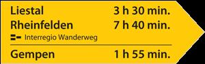signalisation allemande circuit interregio