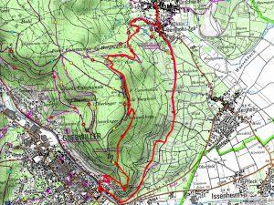 randonnée Guebwiller - Orschwihr