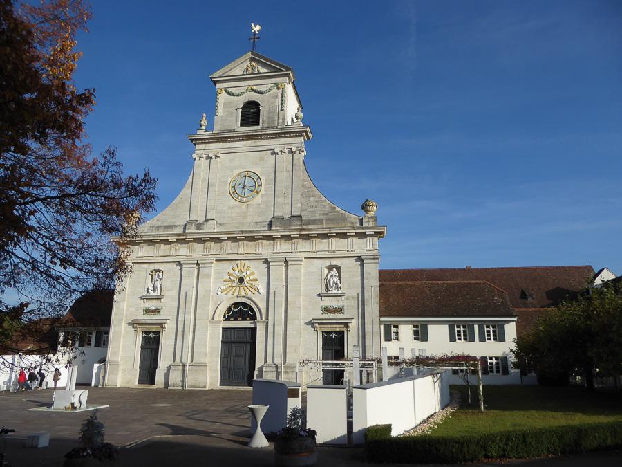 L'abbaye bénédictine de Mariastein sur Interregio en Suisse
