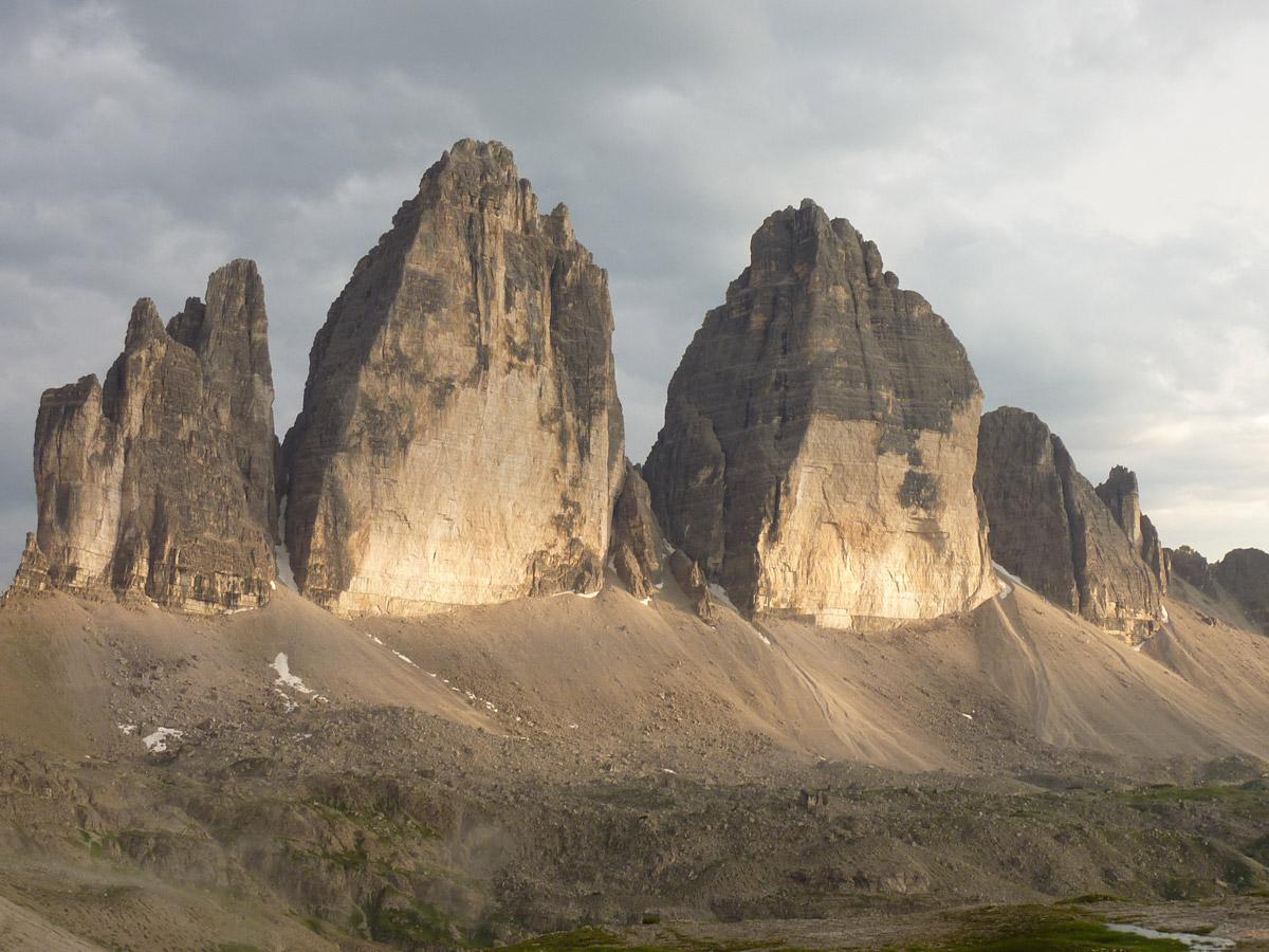 Tre Cime di Lavaredo, Dreizinnen, Dolomites