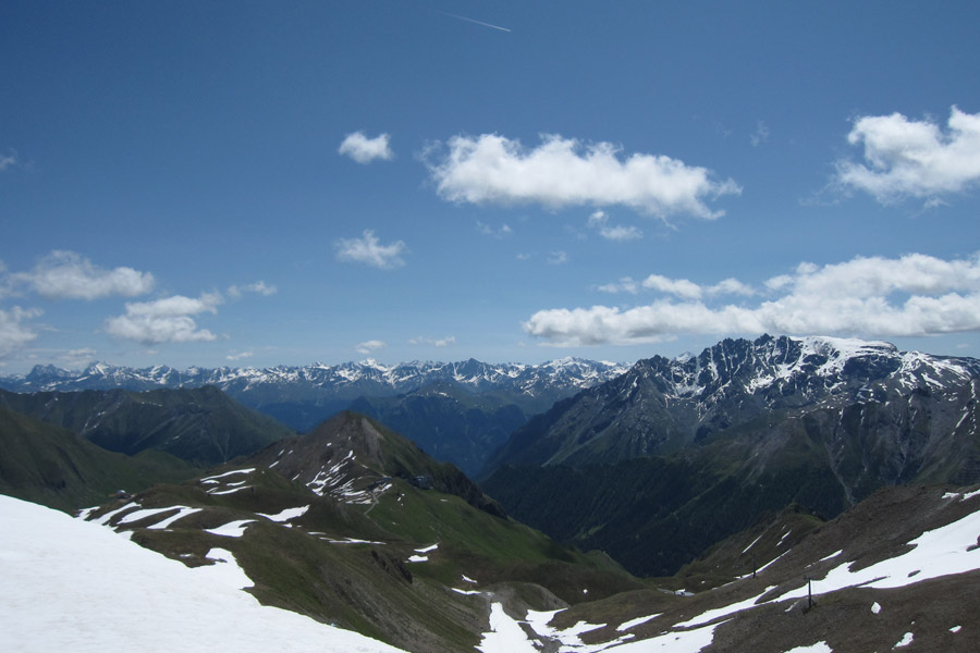 Tyrol, Autriche, Ischgl, Idalp, Alpes suisses