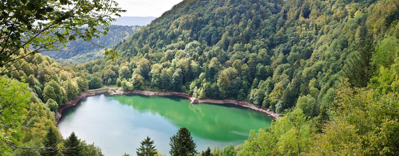 Lac des Perches, Haut-Rhin, Alsace