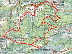 hohe winde, beinwil, jura suisse