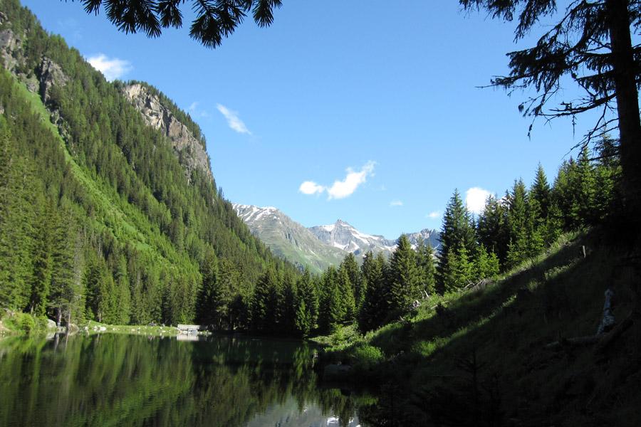 Tyrol, Schwarzwassersee, Ischgl, Autriche