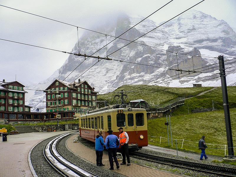 Gare de Kleine Scheidegg, Suisse