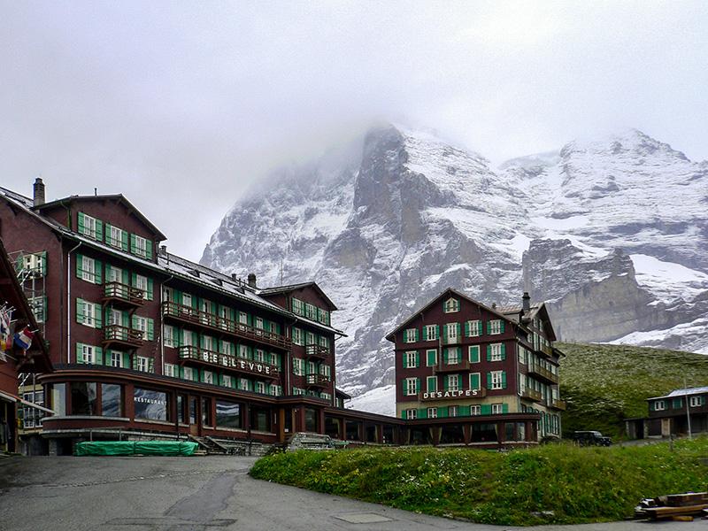 Kleine Scheidegg, Suisse, Oberland bernois