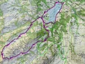 Du Schwarzsee jusqu'au Patraflon