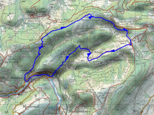Sainte-Ursanne, Jura suisse, les Malettes