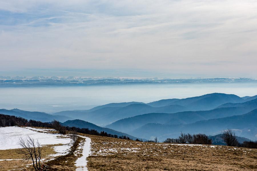 Markstein, chaîne des Alpes bernoises
