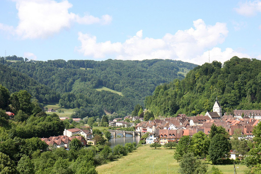 Saint-Ursanne, Jura suisse