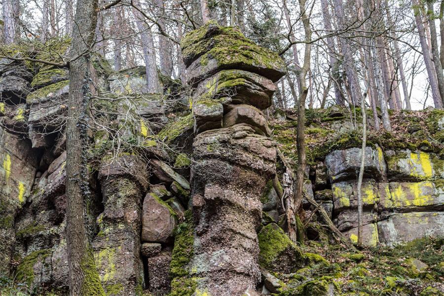 Près du Schauenberg, le rocher du coucou