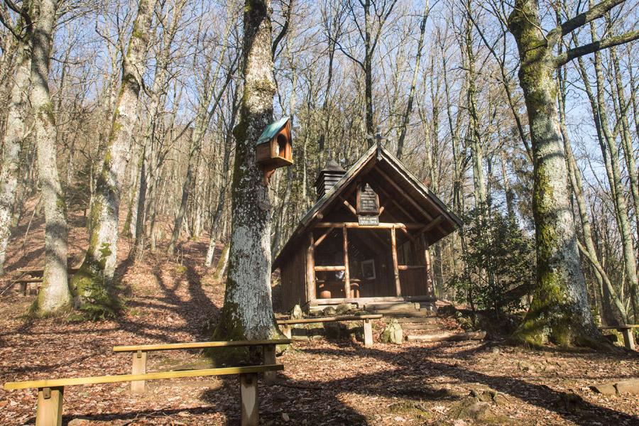 Thann, la Waldkapelle