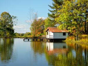 Cabane aux mille étangs