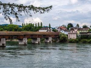 Le Rhin entre Bad Saeckingen et Stein en Suisse