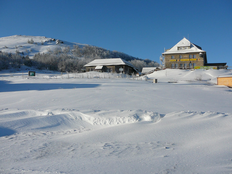 hotel Grand Ballon en hiver