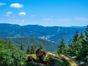 Panorama depuis la Roche Marchal