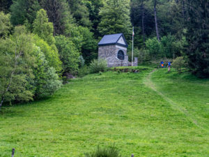 chapelle du Sudel, Firstacker