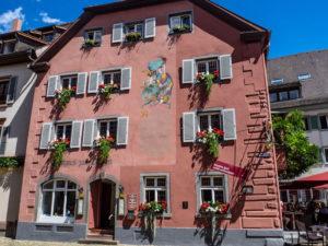 Staufen en Brisgau, l'hôtel où séjournait Faust
