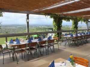Près de l'arboretum, le restaurant Lenzenberg