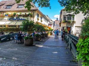 Staufen en Brisgau, une ruelle touristique