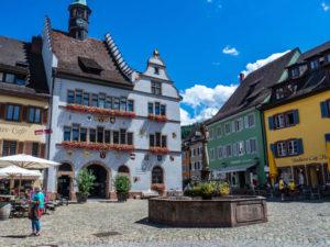 Staufen, en Allemagne, Place de la Mairie