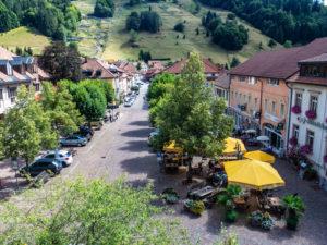 village de Todtnau en Forêt Noire