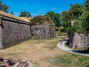 les fortifcations de Vauban à Neuf-Brisach