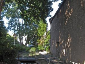 A l'emplacement d'un ancien fossé, le Jardin des Senteurs de Mulhouse