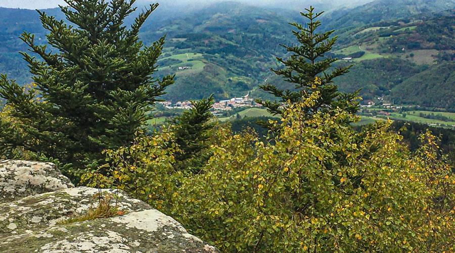 Le massif du Taennchel offre de beaux points de vue