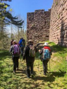 Le Petit Hohnack et les ruines du château