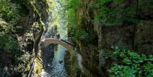 Gorges de l'Areuse, canton de Neuchâtel, Suisse