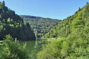 Non loin de Réclère, les gorges du Doubs