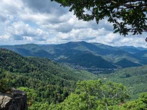 vallée de Thann, vue du Baerenthal