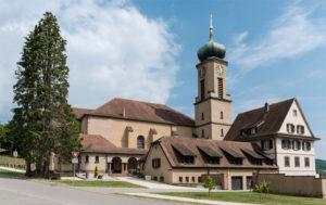 À Thierenbach, la basilique Notre-Dame