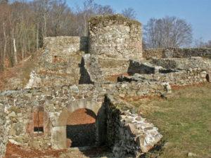 Ruines du château de Rougemont