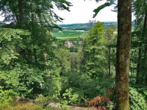 Non loin de Vieux-Ferrette, le village de Bendorf