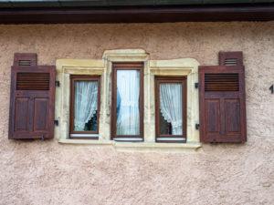 Fenêtre à meneaux à Rantzwiller