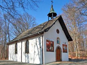 Entre Doller et Soultzbach, la chapelle ND des Bouleaux