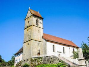 L'église de Faverois