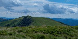 Le Rothenbachkopf tel qu'on le voit du sommet du Rainkopf